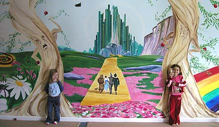 Great ... Wizard Oz Wall. Oz6g Murals For Children I Murals By Jennifer Pictures Gallery